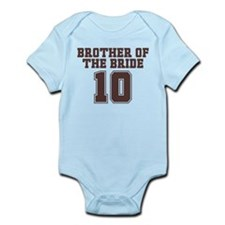 Uniform Bride Brother 10 Infant Bodysuit