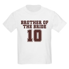 Uniform Bride Brother 10 T-Shirt