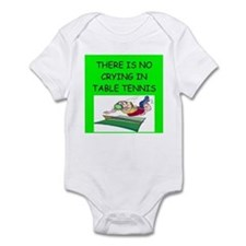 table tennis gifts Infant Bodysuit