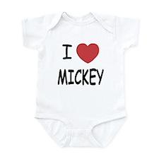 I heart Mickey Infant Bodysuit