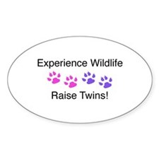 Experience Wildlife Raise Twins Decal