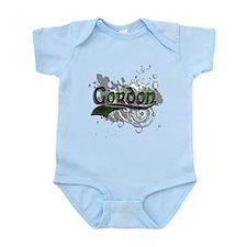 Gordon Tartan Grunge Infant Bodysuit