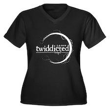 Twilight Addicted UK Women's Plus Size V-Neck Dark