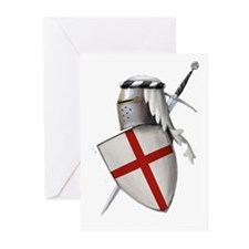 Shield of Saint George Greeting Cards (Pk of 20)