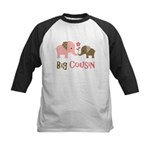 Big Cousin - Elephant Kids Baseball Jersey
