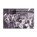 Beginning of Wisdom Socrates Mini Poster Print