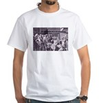 Beginning of Wisdom Socrates White T-Shirt
