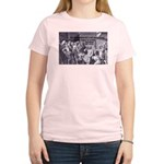 Beginning of Wisdom Socrates Women's Pink T-Shirt