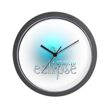 Eclipse 07.09.10 Blue Moon Wall Clock