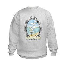 Sanibel Island - Egret on Bea Sweatshirt