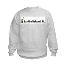 Sanibel Island - Pelican Sweatshirt