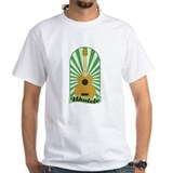 Green Sunburst Ukulele Shirt