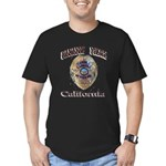 Cabazon PD Men's Fitted T-Shirt (dark)