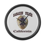 Cabazon PD Large Wall Clock
