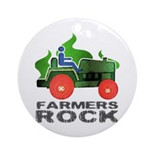 Farmers Rock Ornament (Round)