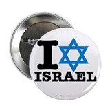 "I STAR ISRAEL 2.25"" Button (10 pack)"