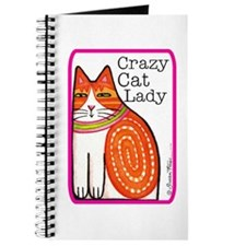CRAZY CAT LADY Journal or Blank Book