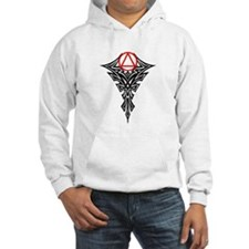 RED TRIBAL BALL Hoodie
