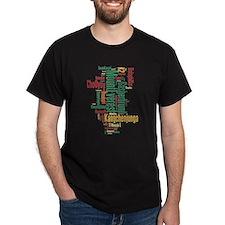 Highest Mountains Men's T-Shirt