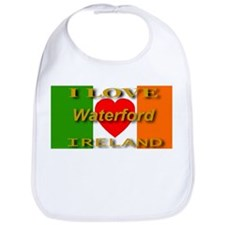 I Love Waterford Ireland Hear Bib