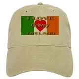 I Love Galway Ireland Heart F Baseball Cap