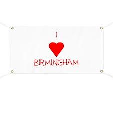 I Love Birmingham Banner