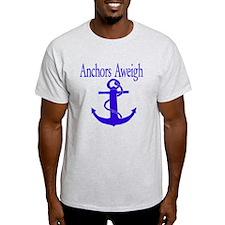 Anchors Aweigh Blue T-Shirt