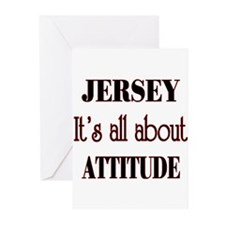 Jersey Attitude Greeting Cards (Pk of 20)