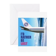 I'd Rather Be LOST Greeting Cards (Pk of 10)
