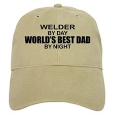 World's Best Dad - Welder Baseball Cap
