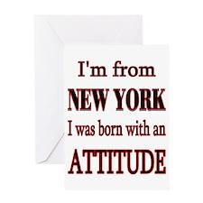 I'm From NY Greeting Card