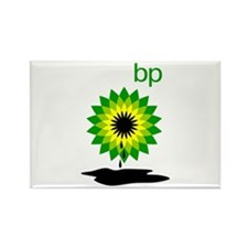 BP Oil... Puddle Rectangle Magnet