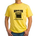 Main Street Gym Yellow T-Shirt