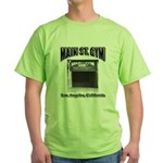Main Street Gym Green T-Shirt