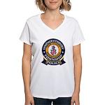 Springettsbury Township Polic Women's V-Neck T-Shi