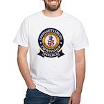 Springettsbury Township Polic White T-Shirt