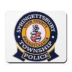 Springettsbury Township Polic Mousepad