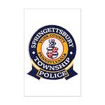 Springettsbury Township Polic Mini Poster Print