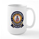 Springettsbury Township Polic Large Mug