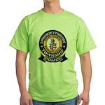 Springettsbury Township Polic Green T-Shirt