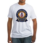 Springettsbury Township Polic Fitted T-Shirt