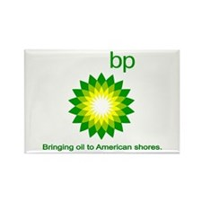 BP, Bringing Oil... Rectangle Magnet