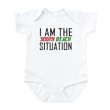 I AM THE SOUTH BEACH SITUATIO Infant Bodysuit