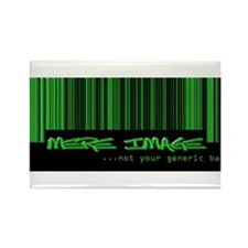 Mere Image Band Rectangle Magnet