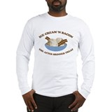 Ice Cream 'n Bacon after brin Long Sleeve T-Shirt