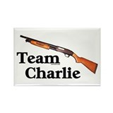 Team Charlie Rectangle Magnet
