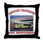 Lynwood Fire Department Throw Pillow