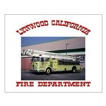 Lynwood Fire Department Small Poster