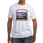 Lynwood Fire Department Fitted T-Shirt