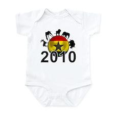 Ghana World Cup 2010 Infant Bodysuit